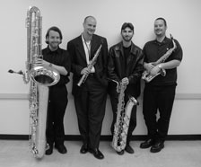 photo of the Spectrum Saxophone Quartet